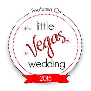 See Our Featured Work on Little Vegas Wedding