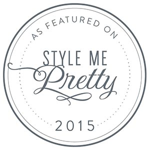 See Our Featured Work on Style Me Pretty