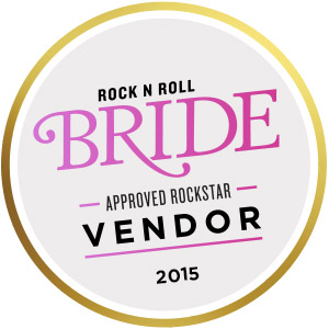 See Our Featured Work on Rock n' Roll Bride