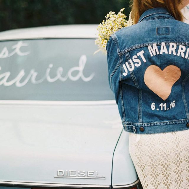 Stamp that s! everywhere! JUST married!  Photo hellogabyj ofhellip
