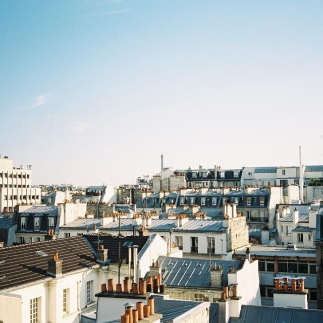 Newsflash! Im a hopeless romantic Rooftop views in Paris werehellip