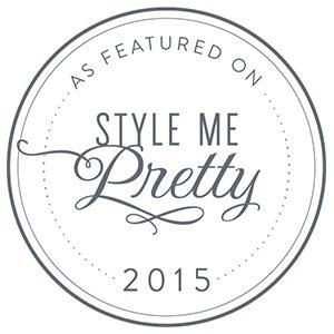 See Us Featured on Style Me Pretty